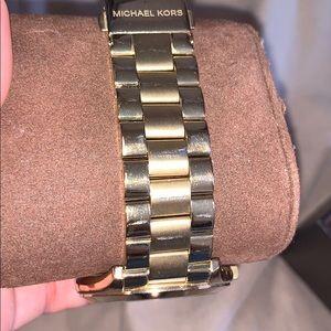 Michael Kors Accessories - Gold watch